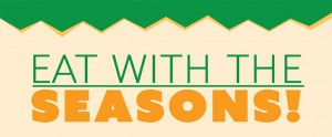 Eat with the Seasons slider