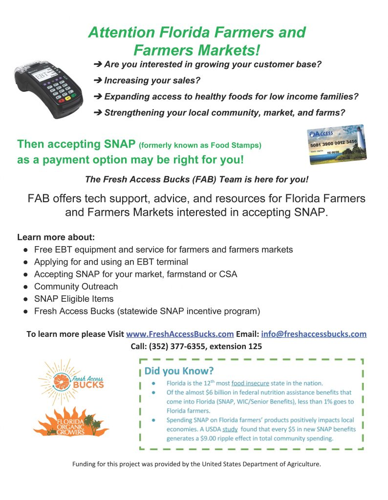 Then Accepting Snap As A Payment Option Might Be Right For You! See The  Flier Below For More Details And How You Can Start Accepting Snap!